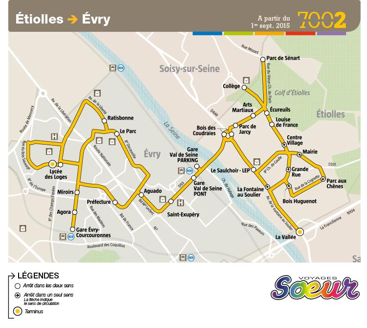 Transports Etiolles